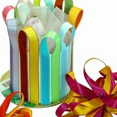 logo printed ribbon,wired ribbon,sheer ribbon,organza ribbon