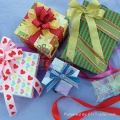 garment ribbons, holiday decoration, grosgrain ribbon, polyester ribbon, garment