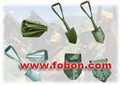 Mini folding shovel folding shovel double folding shovel mini shovel garden tool