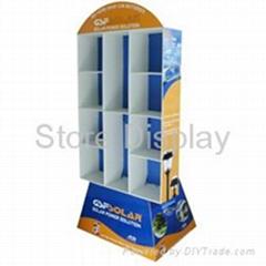 Corrugated Cardboard Display FDSD013