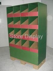 POP Pallet Displays, Cardboard Display PDSD009