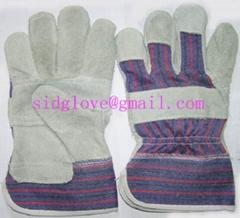 patch palm working glove