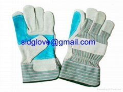 double palm working glove