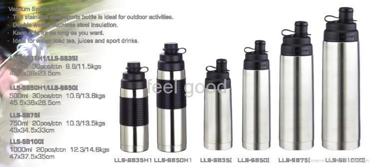 stainless steel sports bottle 1