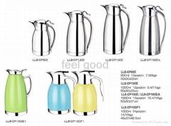 stainles steel vacuum coffee pot