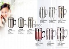 stainless steel office mug
