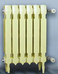 double column convection cast iron radiator