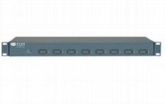 Eight-Port Web-Managed Optical Ethernet Switch