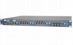 Configurable and Modularized 24 + 2G Optical Ethernet Switch