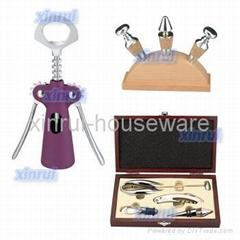 wine accessories (wine opener, wine stopper, wine tool set)