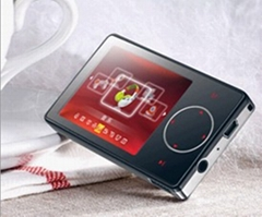 "2.4"" finger-touch MP4 player"