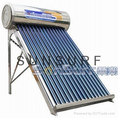Regular System all stainless steel  Solar Water Heater