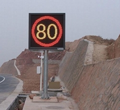 highway LED sign