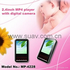 MP4 player with digital camera