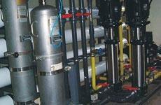 LCD製程清洗廢水回用系統