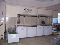 Capacitance type touch screen ultrasonic cleaning machine