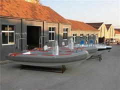 rigid inflatable boat RIB660