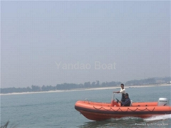 rigid inflatable boat RIB580