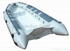 rigid inflatable boat RIB420