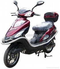 Cheapest Gas and Electric Hybrid Motorcycle scooter HEV03(US$550)