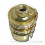 B22 Brass Iron Lampholder