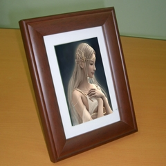 "7"" Digital Photo Frame(DF704W-E)"
