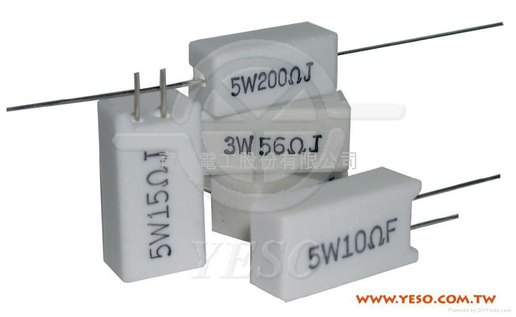 Cement Type Resistor Product Catalog Taiwan Ywh Chau