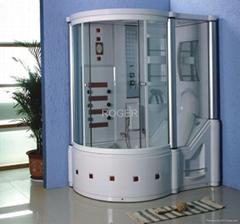 shower room, steam room, shower cabin, sauna room