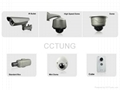 High density IP camera with Face Recognition for access control