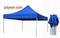 folded tent