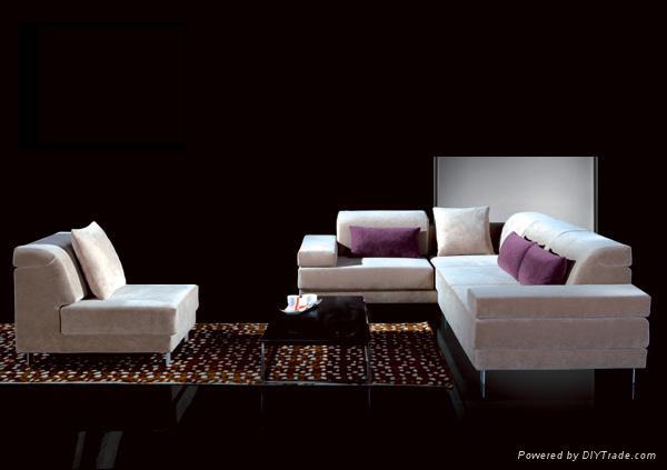 一点透视木质沙发手绘