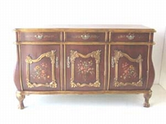 hand-painted antique reproduction furniture