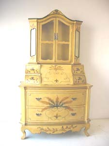Hand Painted Antique Reproduction Furniture Zhonglun China Services Or Others Bedroom