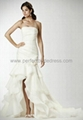 Organza Strapless Mermaid 2 in 1 Wedding Dress Bridal Gowns Bridal Dress WD-3905