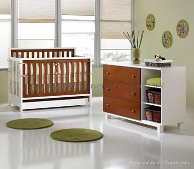 Home Nursery Furniture Orchard Set Cot Bed Mattress Sale