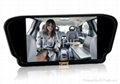 """TOPPIE 7"""" rearview car mirror TFT-LCD"""