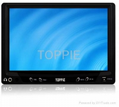 TOPPIE 7 inches Headrest Touch Screen TFT-LCD Monitor
