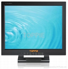 "Toppie 15"" Headrest Touch Screen TFT-LCD Monitor with TV"
