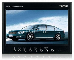 Toppie 9.0 inches Super-Slim TFT-LCD Monitor/Car TV