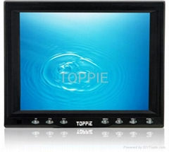 Toppie 8 inches VGA touch screen desktop car TFT-LCD monitor for car PC or GPS