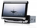 Toppie 7'' In-Dash  TFT-LCD Monitor with