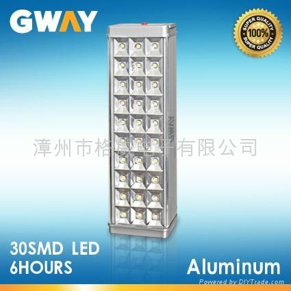LED Emergency Light with 30-piece 3528 SMD LED,Aluminum Housing 1