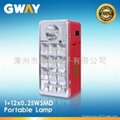 LED Emergency Light with 1 Piece