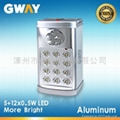 Rechargeable Emergency Light with 5 LED