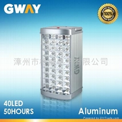 40-piece LED Rechargeable Emergency lantern with 30-50-hour Duration