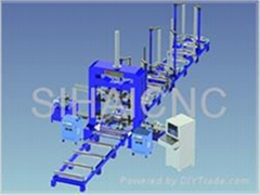 CNC Automatic I-steel(Heavy steel)(Box-Beam)Production Line