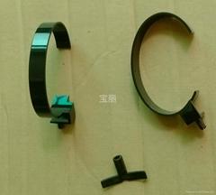 黑色手表C圈