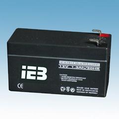 12v1.3ah sealed lead acid battery