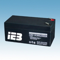 12v3.3ah sealed lead acid battery