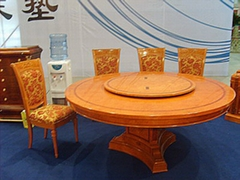 Classic round dining table